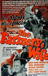 <i>The Farmers Wife</i> (1941 film) 1941 film by Norman Lee