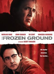 The frozen ground wikipedia the frozen ground two men look in a common direction while the movies title runs through the middle of voltagebd Images
