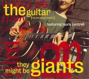 The Guitar (The Lion Sleeps Tonight) - Image: The Guitar cover art TMBG