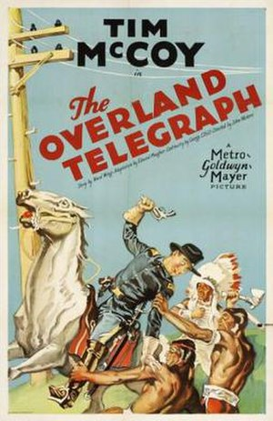 The Overland Telegraph - Theatrical release poster