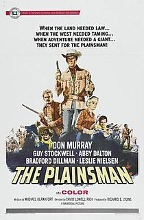 <i>The Plainsman</i> (1966 film) 1966 film by David Lowell Rich