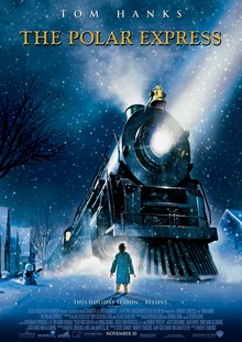 The Polar Express is a great Christmas movie for kids.