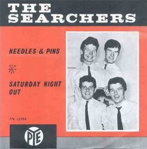 Needles and Pins (song) - Image: The Searchers Needles and Pins single