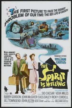 The Spirit Is Willing - Theatrical release poster