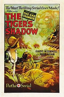 <i>The Tigers Shadow</i> 1928 film by Spencer Gordon Bennet