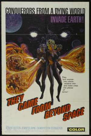 They Came from Beyond Space - Image: They Came From Beyond Space Film Poster