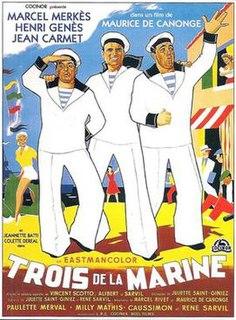 <i>Three Sailors</i> (1957 film) 1957 film by Maurice de Canonge