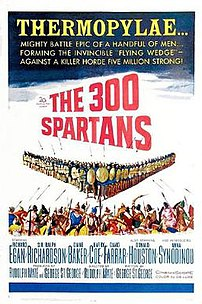 Film poster for The 300 Spartans - Copyright 1...