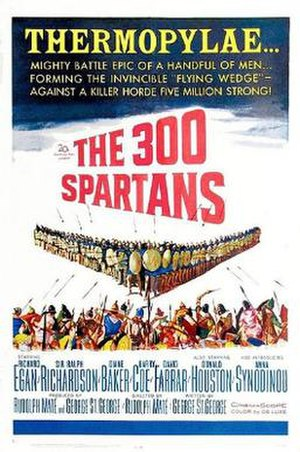 The 300 Spartans - Theatrical release poster