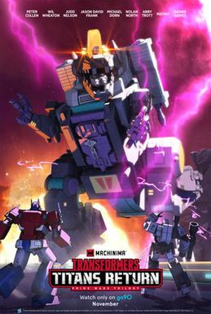 Transformers: Titans Return - Official poster
