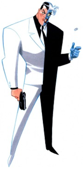 Harvey Dent / Two-Face as depicted in the DC Animated Universe.  sc 1 st  Wikipedia & Two-Face - Wikipedia