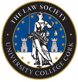 The Law Society, University College Cork - Image: UCC Law Society Logo