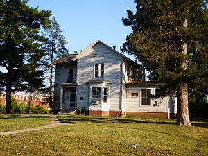 History of the University of Illinois at Urbana–Champaign - Mumford House constructed in 1870 is the oldest structure on campus