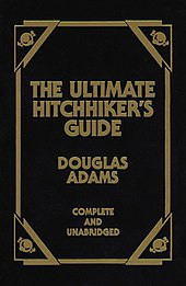 The Hitchhiker's Guide to the Galaxy: Hitchhiker's Guide Series, Book 1