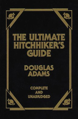 Ultimate Hitchhikers Guide front