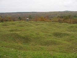 A portion of the battlefield today