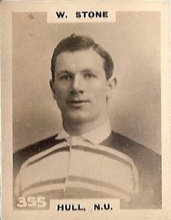 Billy Stone (rugby league) English rugby union and rugby league footballer