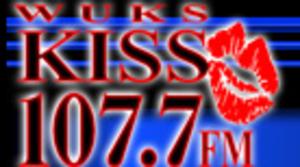 "WUKS - ""Kiss"" logo"