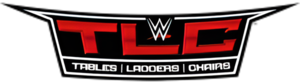 WWE TLC: Tables, Ladders & Chairs - The 2015 WWE TLC logo