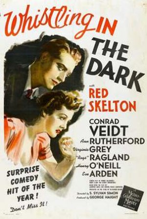 Whistling in the Dark (1941 film) - Image: Whistling in the Dark Film Poster
