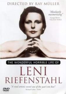 <i>The Wonderful Horrible Life of Leni Riefenstahl</i> 1993 film by Ray Müller