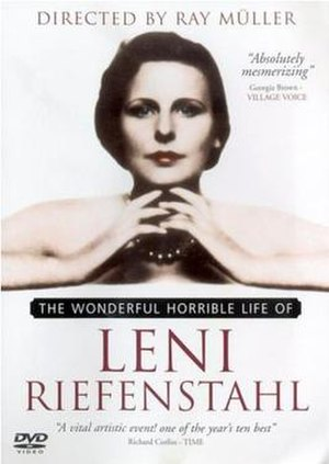The Wonderful Horrible Life of Leni Riefenstahl - Image: Wonder, horr life leni cover