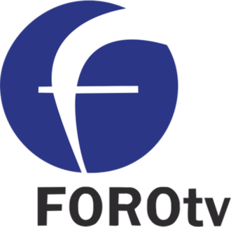 FOROtv - Former logo of FOROtv, used from its 2010 launch until early 2016.