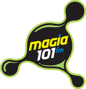 XHUNO-FM - Image: XHUNO magia 101fm logo