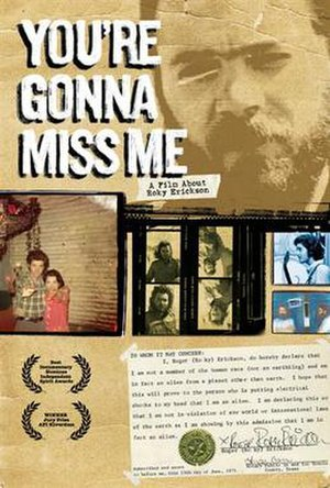 You're Gonna Miss Me - Movie poster
