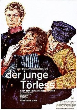 Young Törless - Image: Young Torless poster