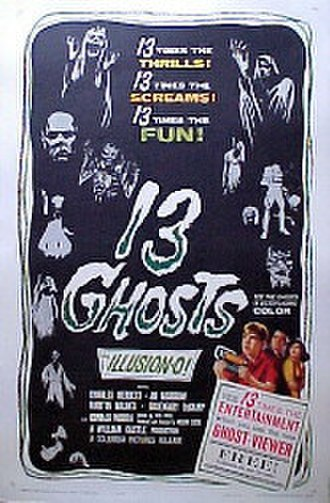 13 Ghosts - Original theatrical release poster