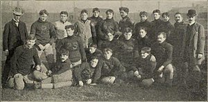 1900 Illinois Fighting Illini football team - Image: 1900 Illinois Fighting Illini football team