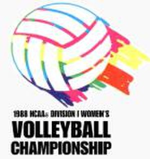 1988 NCAA Division I Women's Volleyball Tournament - 1988 NCAA Final Four logo