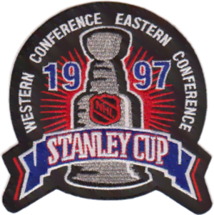 1996–97 NHL season - Image: 1997 Stanley Cup patch