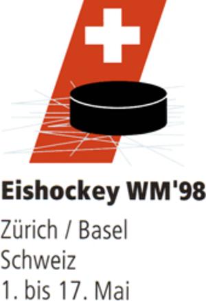 1998 IIHF World Championship - Image: 1998 IIHF World Championship logo