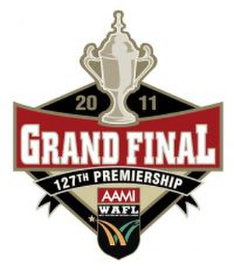 2011 WAFL Grand Final - Image: 2011 WAFL Grand Final logo