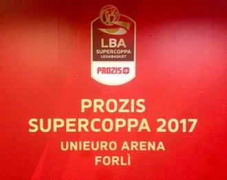 2017 Italian Basketball Supercup - Image: 2017 Prozis Supercoppa logo