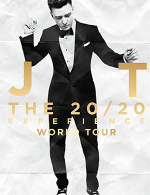 The 20/20 Experience World Tour - Image: 20 Experience World Tour