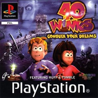 40 Winks (video game) - Image: 40 Winks cover art