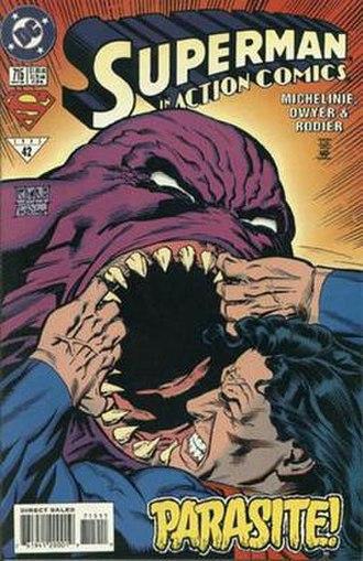 Parasite (comics) - Image: Action 715