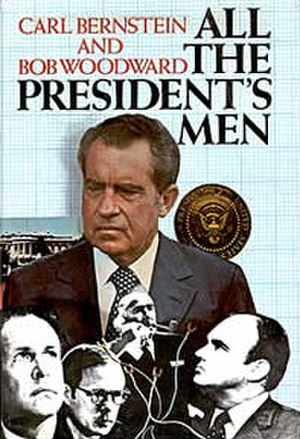 All the President's Men - The cover of the 1974 first edition.