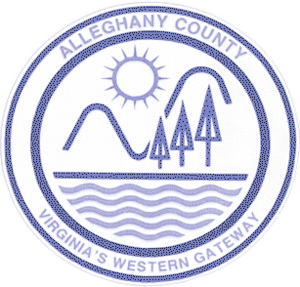 Alleghany County, Virginia - Image: Alleghanycountyseal