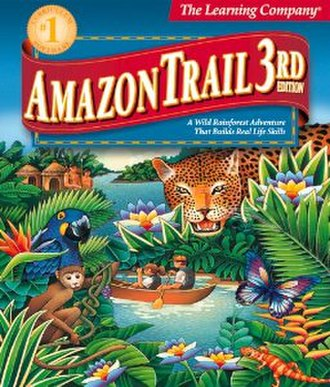 Amazon Trail 3rd Edition - Cover art