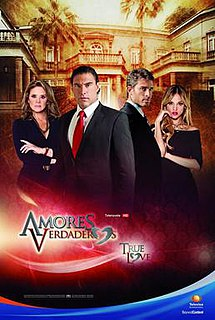 <i>Amores verdaderos</i> Mexican telenovela