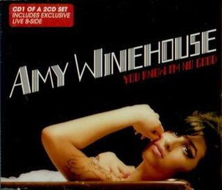You Know Im No Good 2007 single by Amy Winehouse