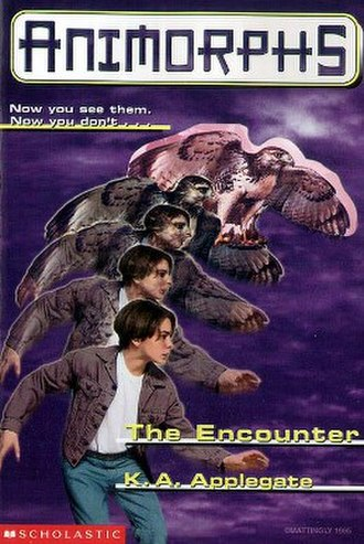 The Encounter (novel) - Tobias morphing into a red-tailed hawk.