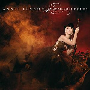 Songs of Mass Destruction - Image: Annie Lennox Songs Of Mass Destruction Album Cover