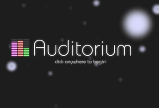 <i>Auditorium</i> (video game) video game