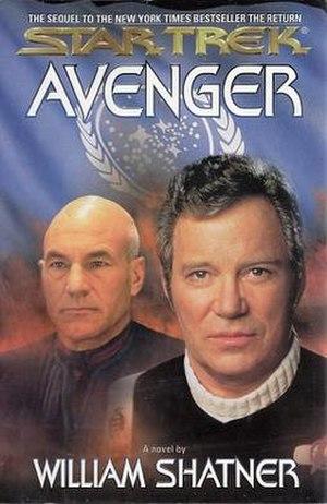 Avenger (Shatner novel) - Image: Avenger (Star Trek novel)