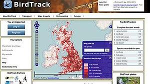 BirdTrack - Image: Bird Track screenshot